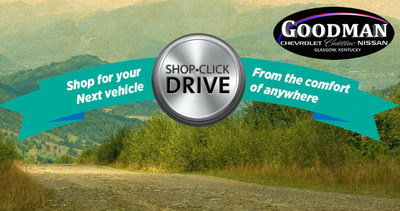 Shop Click Drive at Goodman Automotive allows car shoppers to find a vehicle no matter where they are.
