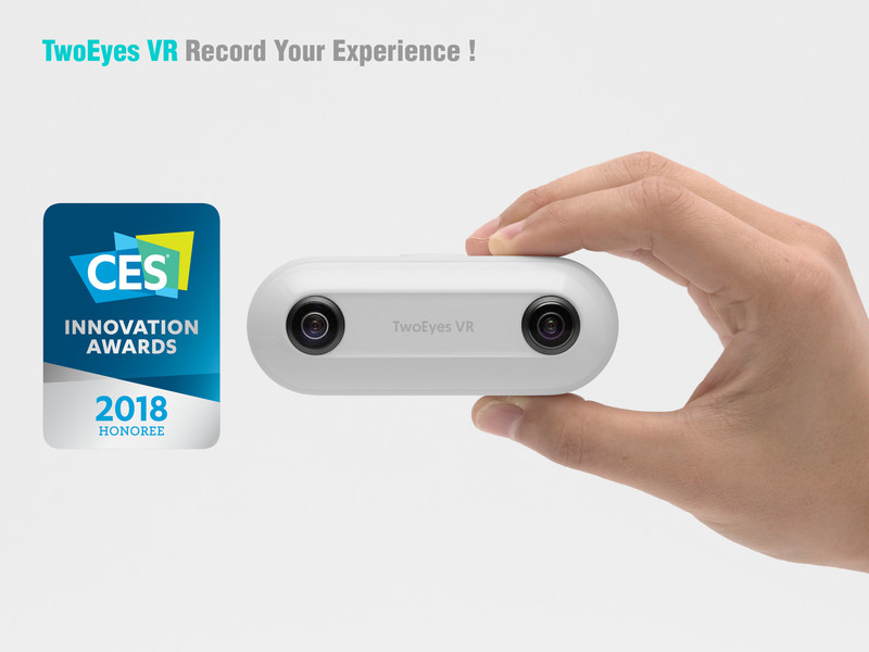 TwoEyes Tech was granted a CES 2018 Innovation Award, which is given to companies that have developed products that meet certain standards of innovation, functionality, design, and other criteria at the world's largest annual trade show.