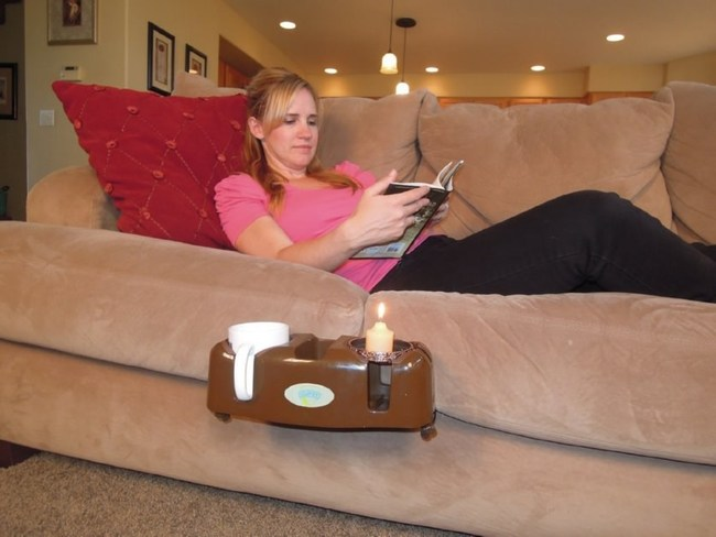 Cupsy drink organizer - useful on the couch, car, bed or beach