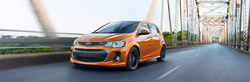 Learn more about the features and styles available on the 2018 Chevrolet Sonic at McCurry-Deck Motors in Forest City, North Carolina.