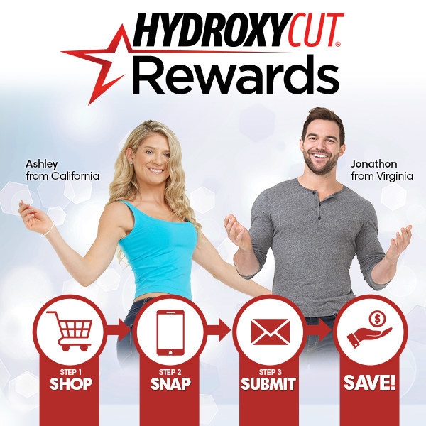 Hydroxycut is helping Americans stay on track with exclusive rewards when they purchase Hydroxycut. (CNW Group/Iovate Health Sciences International Inc.)