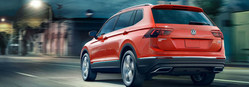 The 2017 Volkswagen Tiguan Limited with 4Motion is available for a low monthly lease at Hall Cars in Brookfield.