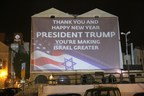 Friends of Zion wish President Trump Happy New Year!