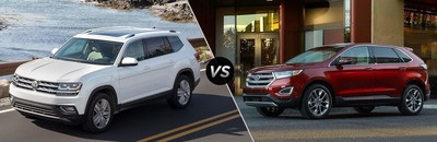 A brief comparison of the 2018 Volkswagen Passat and the 2018 VW Atlas show how both models can outperform rivals from Ford in interesting ways to keep drivers and passengers interested in them.