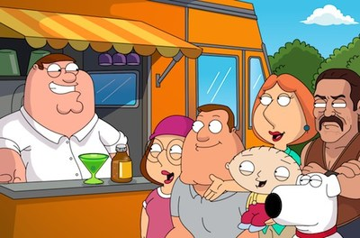 Family Guy: Another Freakin' Mobile Game de Jam City presentando a Danny Trejo