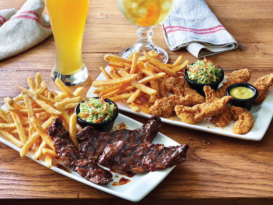 Applebee's Neighborhood Grill + Bar is offering All-You-Can-Eat Riblets and All-You-Can-Eat Chicken Tenders, served with Classic Fries and cole slaw, for only $12.99 for a limited time.