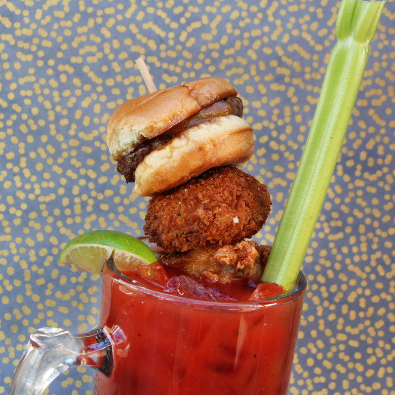 Celebrate National Bloody Mary Day (New Year's Day) with Houlihan's $8 Big 'Ol Mary