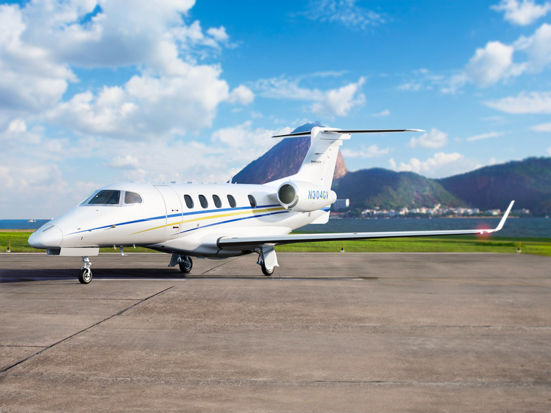 GrandView Jets launches 'Press for Jet' web-enabled button to order private jet services on-demand. GrandView operates Phenom 300 light jets out of the DC/Baltimore region and will be opening a base in Texas early 2018.