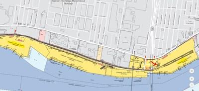 Carte du Port (Groupe CNW/Administration portuaire de Montréal)