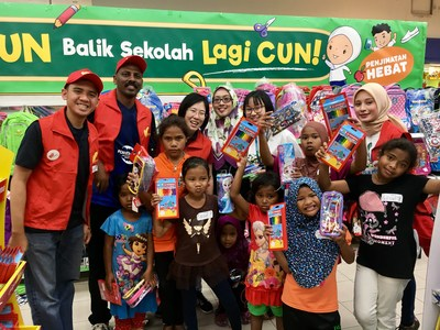 Country Garden's Forest City provides financial aid to Malaysian school children of limited means