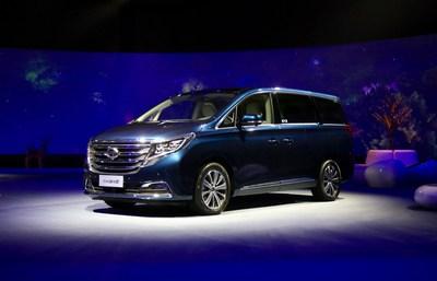 O GM8 é o primeiro veículo para múltiplos propósitos (MPV) da GAC Motor (PRNewsfoto/GAC Motor)