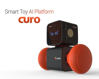 Cubroid Inc. Launches CURO, Smart Toy AI platform at CES 2018