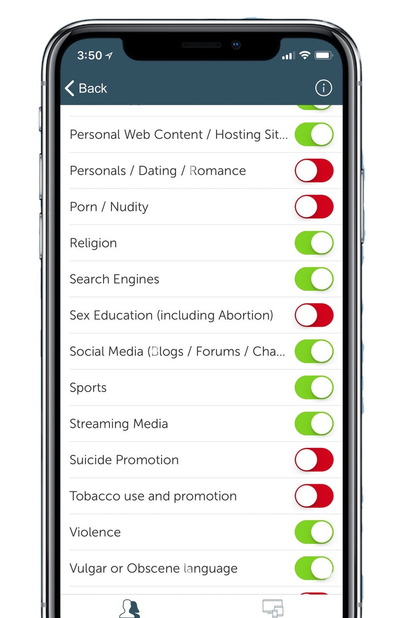 Block Porn and 30+ other categories with Netsanity's Catblocker.