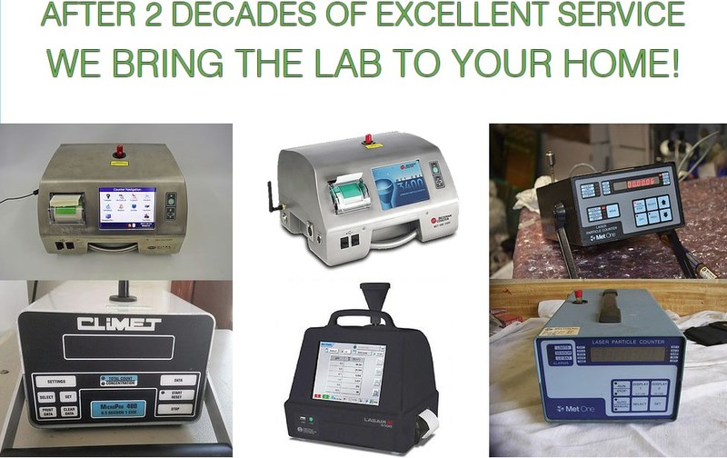 Miami Mold Specialists Indoor Air Particle Counting and Testing Systems