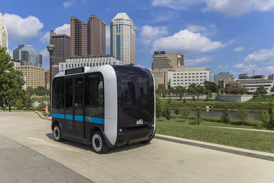 Olli by Local Motors, the World's first self-driving, cognitive, 3D-printed shuttle.
