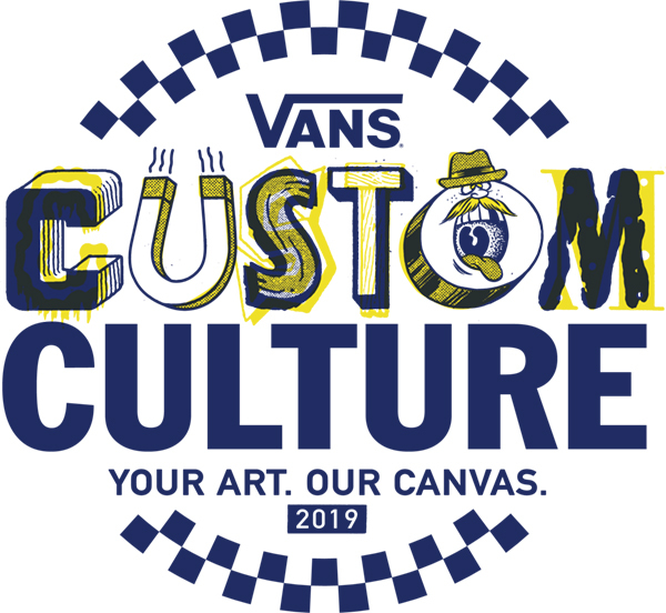 Vans Custom Culture Shoe Customization Contest Logo (PRNewsfoto/Vans)