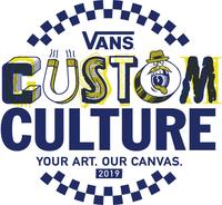 Vans Custom Culture 2018 Shoe Customization Contest Logo (PRNewsfoto/Vans)