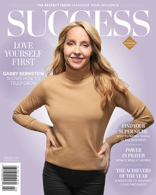 In the February issue of SUCCESS, learn about how speaker, author and spiritual guru Gabby Bernstein overcame her difficult past and learned to let go
