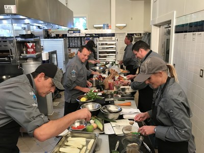 Interstate's F&B Council prepared 27 different meat-free dishes at The Culinary Vegetable Institute in Milan, Ohio