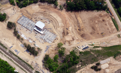The Brandon Amphitheater sits in the middle of a 250-acre park near downtown Brandon that will feature a running, bike and nature trail system, a dog park, a new baseball park facility and other outdoor amenities. - photo courtesy of Greg Campbell Photography