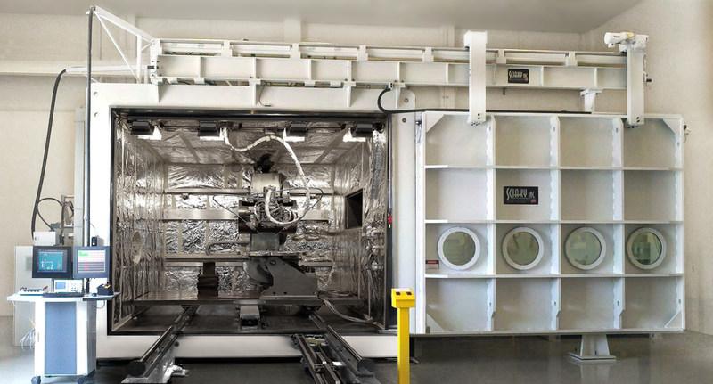 Sciaky's EBAM 150 Metal 3D Printing System.
