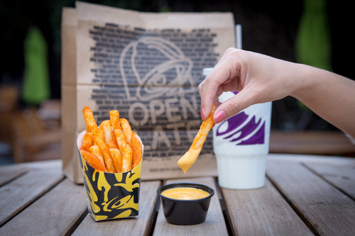 Taco Bell's most-anticipated menu item release of the year will be available crisped to perfection with bold Mexican seasoning and served with a dippable side of warm Nacho Cheese, beginning January 25.