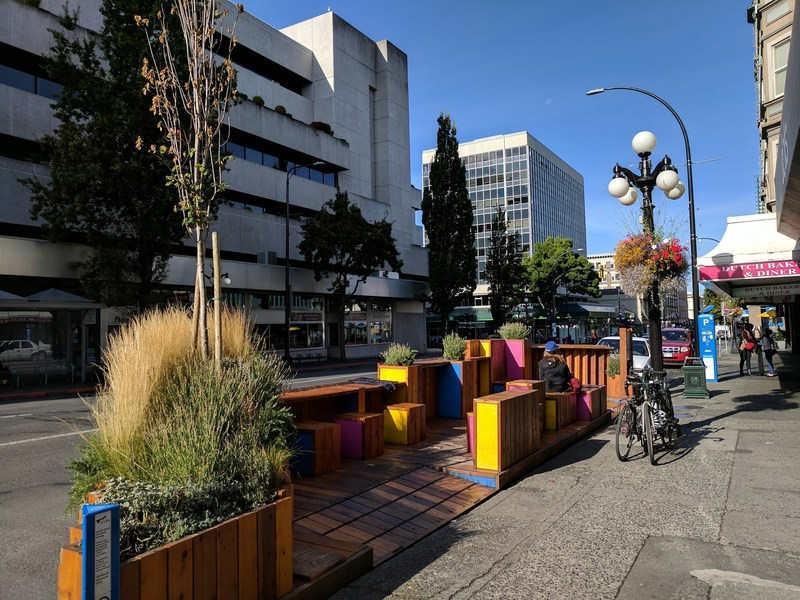 """""""The way we design and build our communities significantly influences the health, happiness, and overall well-being of those who live in them,"""" says Mandy Hansen, Chair of the Real Estate Foundation of BC. (Photo: Victoria, BC. REFBC) (CNW Group/Real Estate Foundation of BC)"""