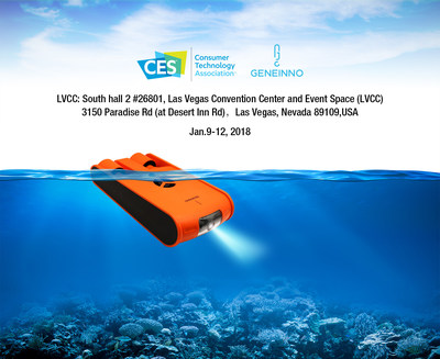 GENEINNO'S Poseidon Drone to Feature at CES 2018, Las Vegas