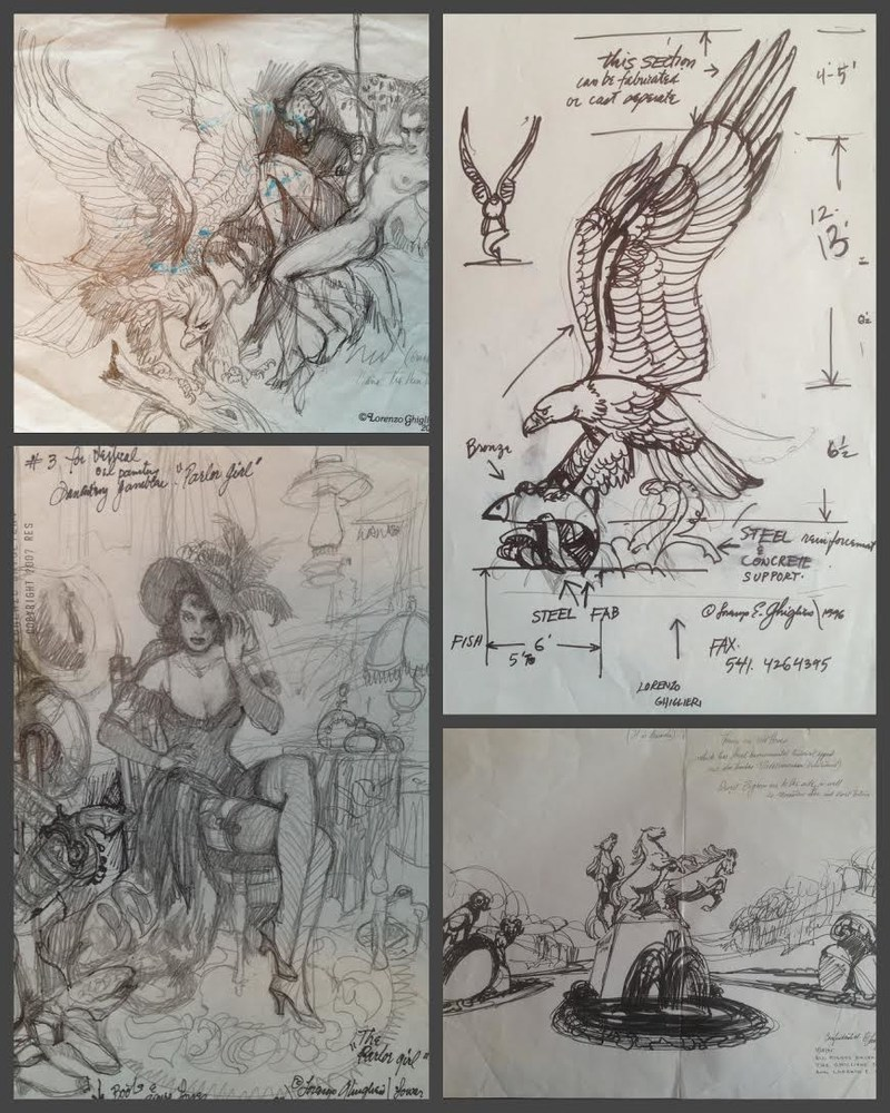 Lorenzo Original Sketches