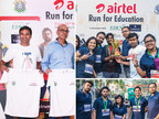 InSync Winning the Most Vibrant Corporate Award at the Airtel Run For Education Kolkata 2017 (PRNewsfoto/InSync Tech-Fin Solutions Ltd)