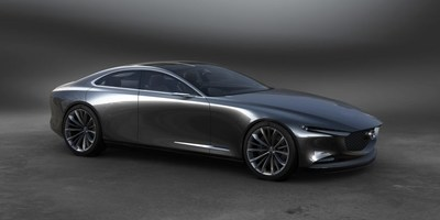 The Mazda VISION COUPE concept reveals Mazda's next-generation KODO?Soul of Motion design vision