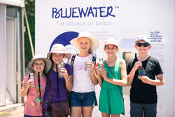 Bluewater water stations in Cape Town turned undrinkable water into pure drinking water during the visit in December by the Volvo Ocean Race, helping to both save valuable water reserves in the drought stricken South African city and stop the use of tens of thousands of single use plastic bottles, most of which are not recycled and end up as micro plastic particles polluting the planet's oceans.