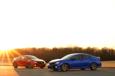 The Canadian-built Honda Civic is named the best-selling passenger car in Canada for 20 consecutive years. (CNW Group/Honda Canada Inc.)
