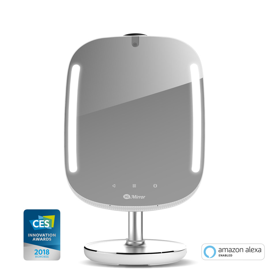 HiMirror Mini: CES 2018 Award Honoree & Amazon-Alexa Enabled