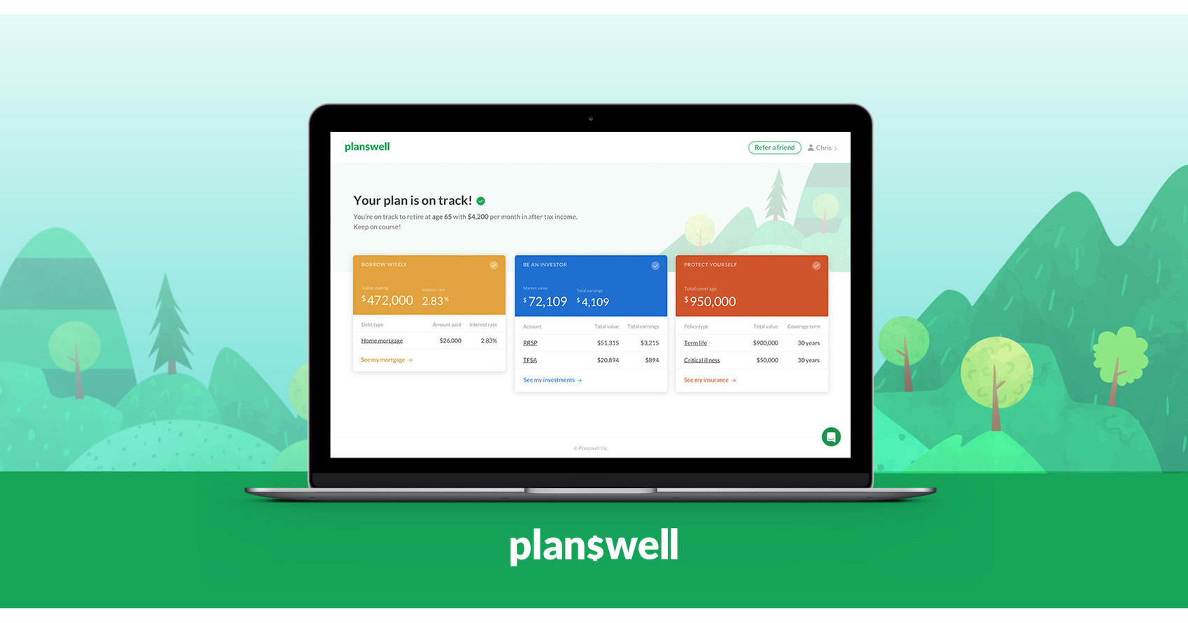 57630af6154 Planswell is now open for business across the country