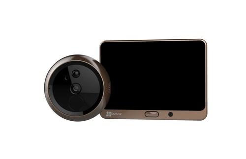 EZVIZ Lookout Smart Door Viewer turns your front entrance into a connected and protected smart door.