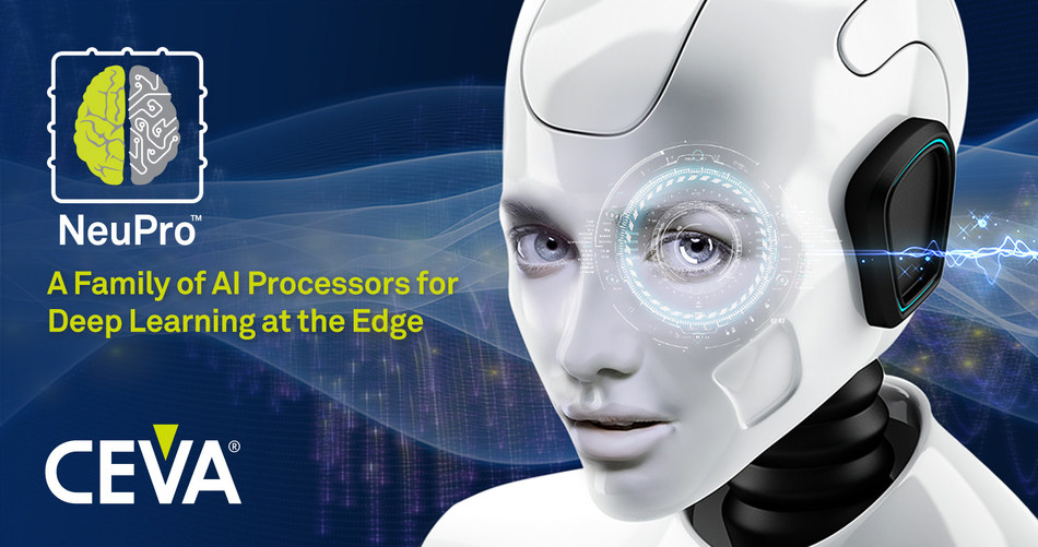 NeuPro is a powerful and specialized Artificial Intelligence (AI) processor family for deep learning inference at the edge. It is designed for edge device vendors looking to quickly take advantage of the significant possibilities that deep neural network technologies offer. NeuPro extends the use of AI beyond machine vision to new edge-based applications including natural language processing, real-time translation, authentication, workflow management, and many other learning-based applications.