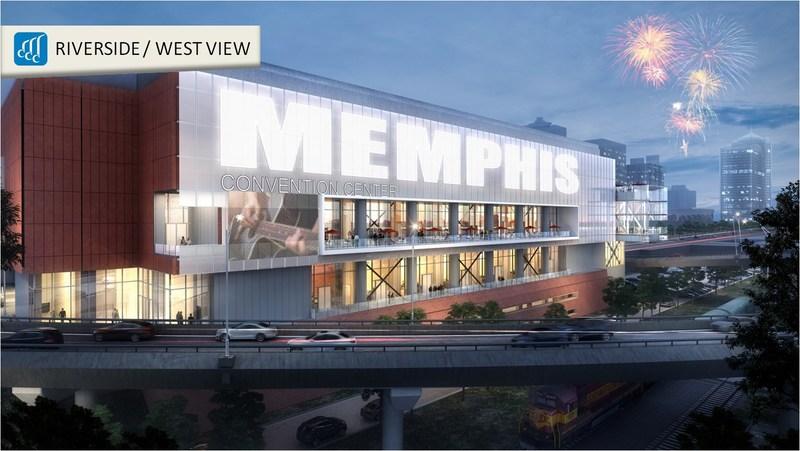 Memphis Convention Center Expansion & Renovation - WEST EXTERIOR