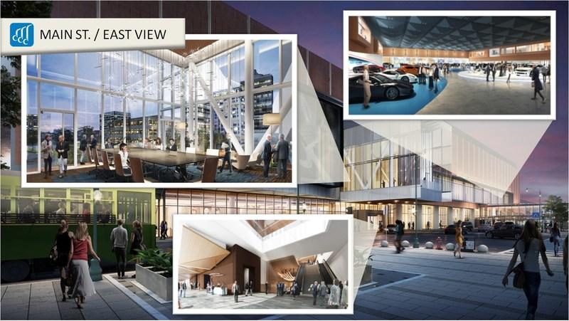 Memphis Convention Center Expansion & Renovation - EAST EXTERIOR & INTERIOR SPACES
