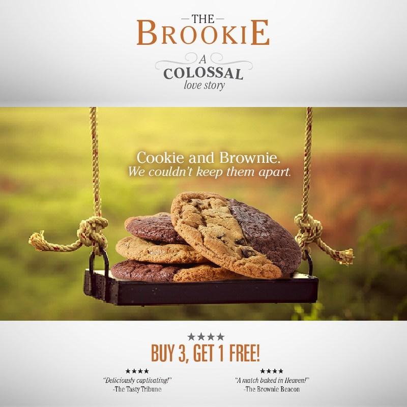 """Great American Cookies Premieres """"The Brookie"""""""