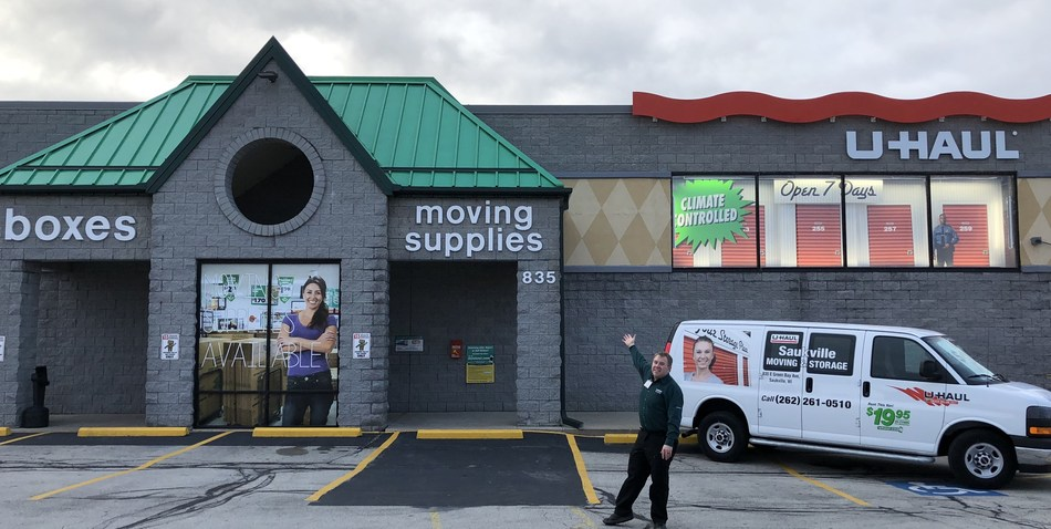 U-Haul® will host a grand opening Jan. 11 to unveil its contemporary indoor self-storage facility at 835 E. Green Bay Ave., site of the former Piggly Wiggly grocery store.