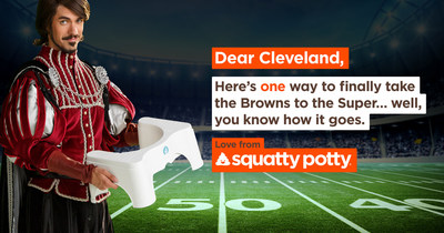 Squatty Potty donates to Cleveland Food Bank and parade event