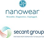 Nanowear and The Secant Group announce exclusive supply chain partnership for scaled manufacturing of proprietary cloth-based nanosensor technology