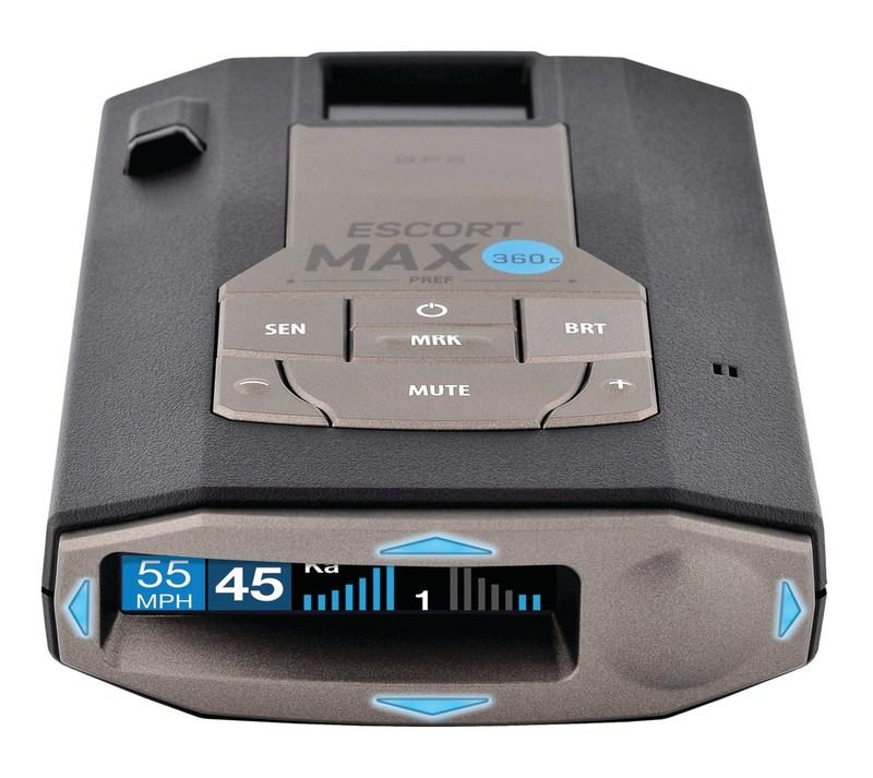 Escort Radar Max 360 >> ESCORT Unveils the First Connected Car Radar / Laser ...