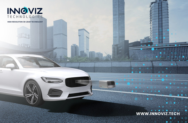 InnovizOne™, the company's built-in, automotive grade LiDAR for levels 3 - 5 autonomous driving, will be available 2019