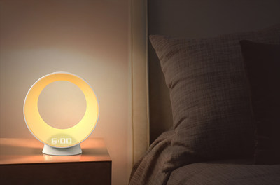 Vobot Unveils a Stylish Wake-up Light with Amazon Alexa, an Even More Fantastic Smart Home Center on Your Nightstand at CES 2018