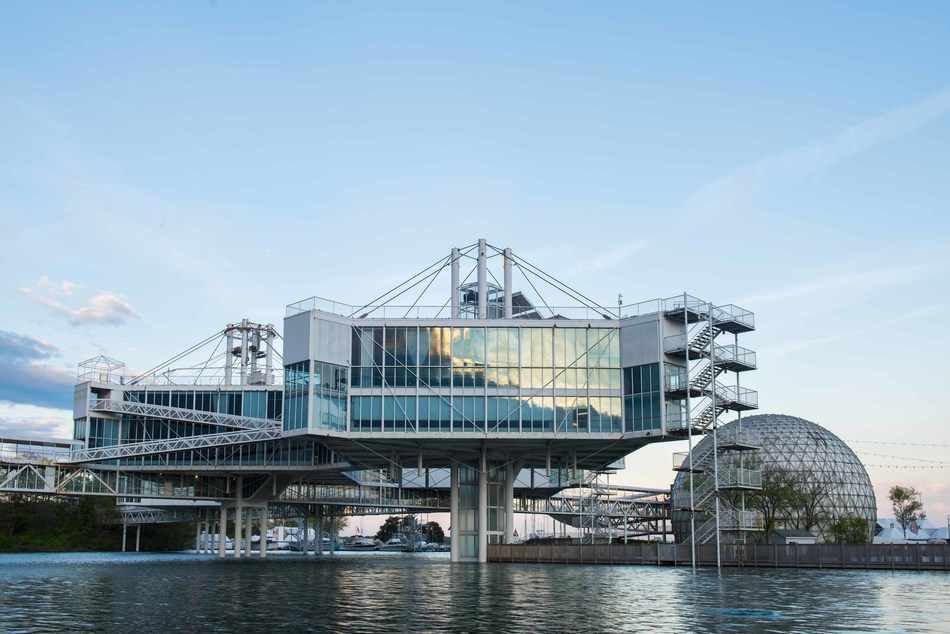 Ontario Place Pavilion Pods (CNW Group/Ontario Place)