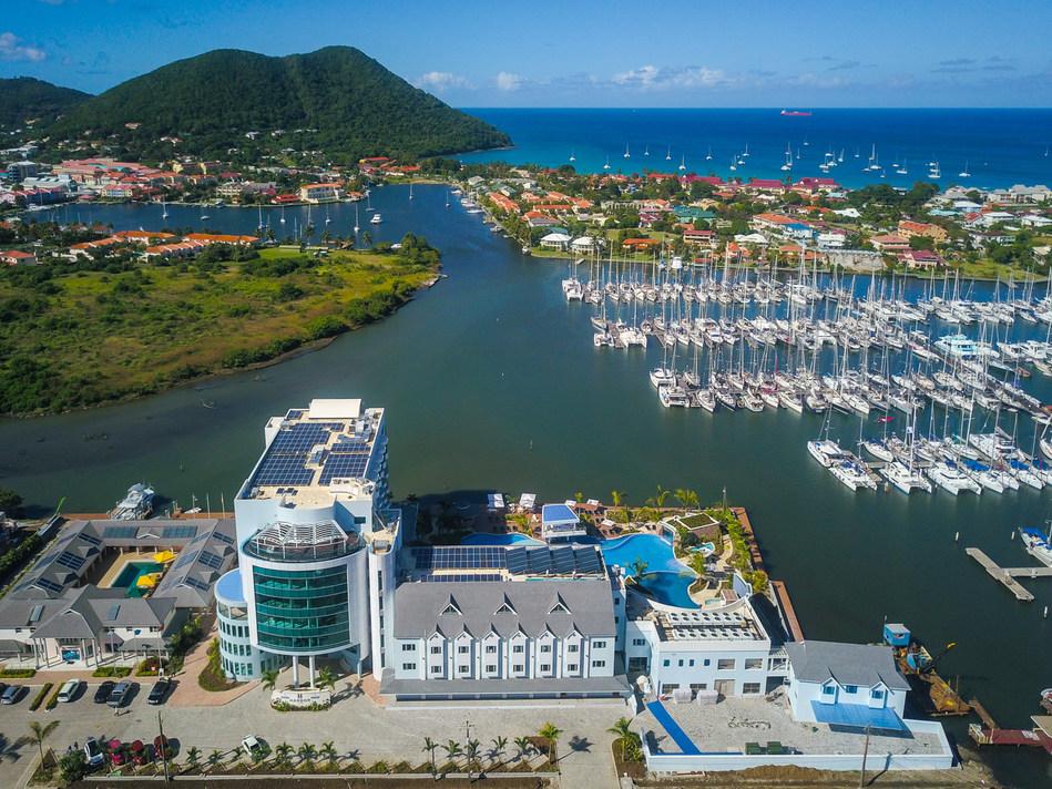 New Luxury Caribbean Dockside Hotel, Harbor Club, Opens in Saint Lucia