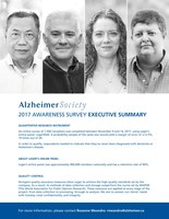 Almost 50% of Canadians would not want others to know if they had dementia, says new survey (CNW Group/Alzheimer Society of Canada)