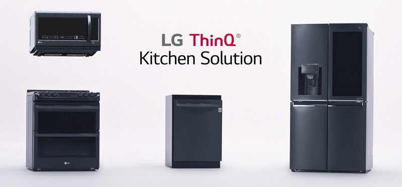 LG's smart kitchen products such as the InstaView™ ThinQ refrigerator, the EasyClean(R) oven range and QuadWash™ dishwasher, maximize efficiency and ease to allow more quality time at home.